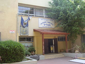 Primary school - Image: Mikhlal School in Ramat Amidar