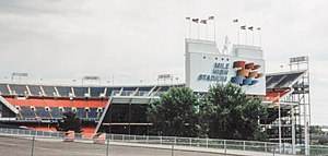 Mile High Stadium - Mile High Stadium in 1995