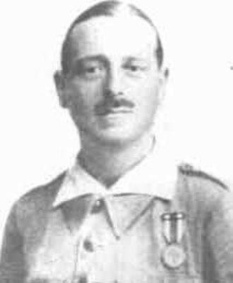 José Millán Astray - José Millán-Astray as a young officer.