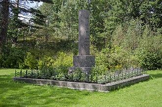 Battle of Lyngør - Memorial to the fallen in the battle.