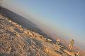Mitzpe Ramon Sun setting over the Ramon crater (7680784836).jpg