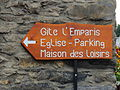 Mizoën, Frankrijk (1080 m.) Informatiebord.JPG
