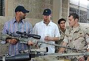 Mk 15 sniper rifle