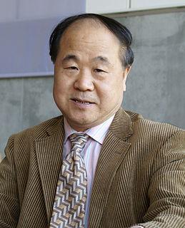 Mo Yan Chinese novelist