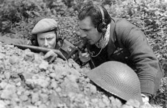Forward air control - British Mobile Fighter Controllers operating in North Africa during World War II