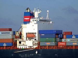 Mol Vision p5 approaching Port of Rotterdam, Holland 25-Jan-2007.jpg