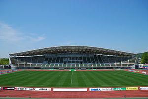 J2 League - Image: Momotaro Stadium 01