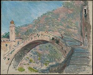 Dolceacqua, le vieux pont sur la Nervia