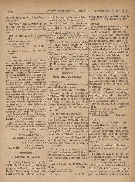 File:Monitorul Oficial al României 1882-10-28, nr. 171.pdf
