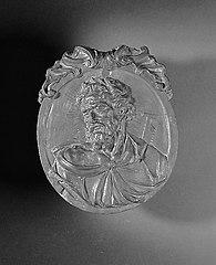 Medallion with bust, of the Apostle Simon
