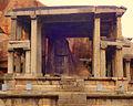 Monolithic Bull(Yeduru Basavanna ) at east end of Virupaksha Bazaar.jpg