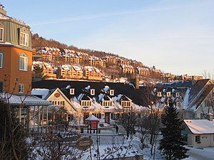 Mont Tremblant Resort - Hotels in the winter