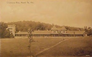 Monte Ne - Monte Ne postcard from 1910 showing Oklahoma Row
