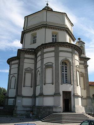 Monte dei Cappuccini, Turin - Facade