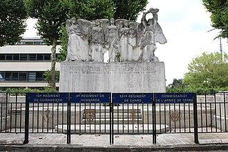 Antoine Sartorio - Image: Monument aux morts de Rambouillet en 2013 2