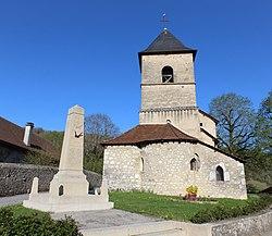 Monument morts Église St Pierre Seillonnaz 1.jpg