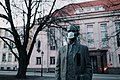 Monument with a mask during COVID-19 pandemic.jpg