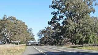 Moorilim Town in Victoria, Australia
