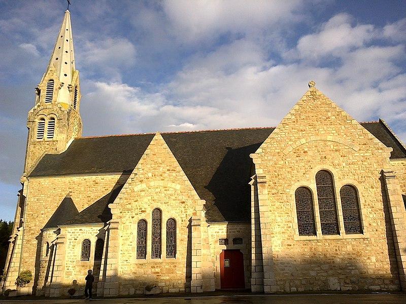 Morbihan Saint-Pierre-Quiberon Eglise Cote Droit 13012014