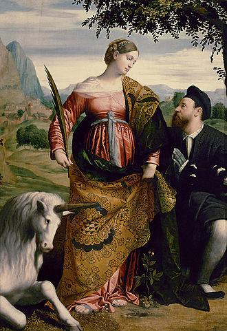 Justina of Padua - Image: Moretto da Brescia 001b