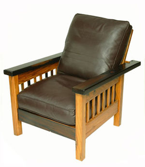 Recently constructed version of the Morris chair