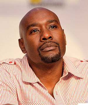 Morris Chestnut - Chestnut at the San Diego Comic-Con International in July 2010