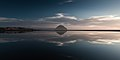 Morro Rock Reflecting in a Lagoon. Waterscape.jpg