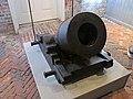 Mortar on display in the Casemate Museum, Fort Monroe, VA.jpg
