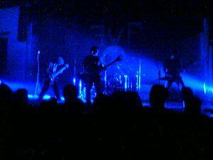 Motör Militia - The group performing at FVF2.