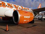 Motor CFM56-5B d'un easyJet Airbus A319.jpg