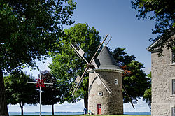 Pointe-Claire Windmill in summer