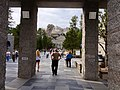 Mount Rushmore at end of walk of State Flags.jpg