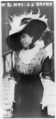 Mrs. J.J. Brown. Captioned Survivor of TITANIC as she landed from CARPATHIA.png