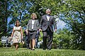 Mrs. Karen Pence and Secretary Perdue Unveil Bee Hive at Vice President's Residence 20170606-OSEC-PJK-0095 (34329555913).jpg