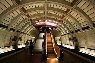 Mount Vernon Square station Washington Metro station