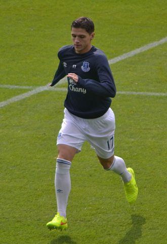 Muhamed Bešić - Bešić with Everton in 2014