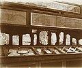 Musée égyptien - Intérieur d'une salle - esquisses de dessins sur ostraca - Le Caire - Médiathèque de l'architecture et du patrimoine - AP62T163575.jpg