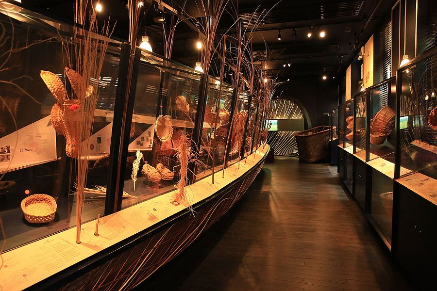 Museum of basketry in Villaines-les-Rochers