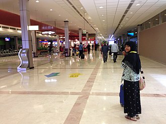 Muscat International Airport - Interior of the current terminal