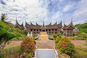 Adityawarman Museum - Adityawarman Museum in the shape of a rumah gadang