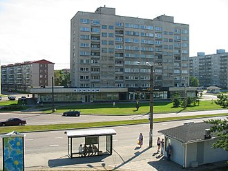 Microdistrict - Flats in Mustamäe, Tallinn, Estonia