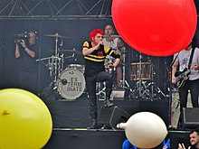 I My Chemical Romance in concerto nel 2011