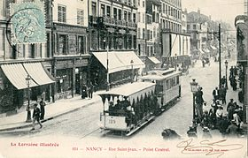 Image illustrative de l'article Ancien tramway de Nancy