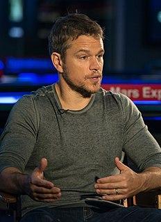 Matt Damon filmography Wikipedia list article
