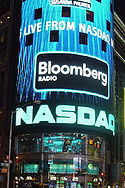 Die NASDAQ in Times Square