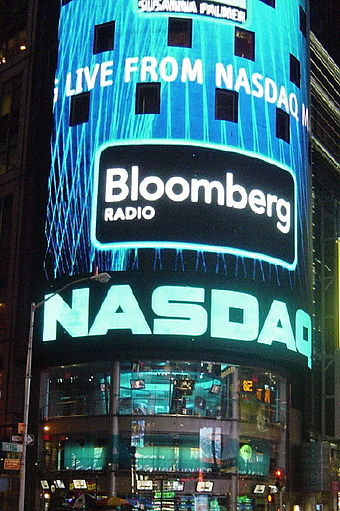 NASDAQ in Times Square, New York City NASDAQ.JPG