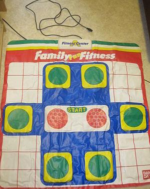 Power Pad - European version Family Fun Fitness.