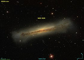 Image illustrative de l'article NGC 3628