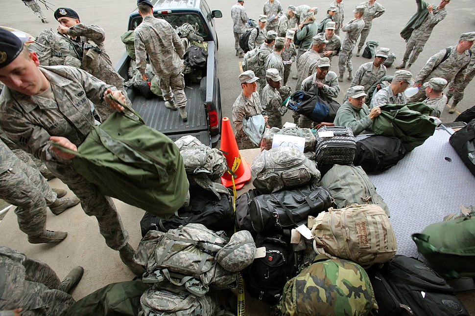 NJ National Guard Prepares for Hurricane Sandy