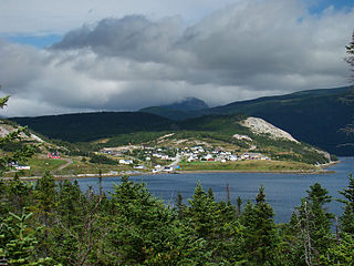 Norris Point Town in Newfoundland and Labrador, Canada